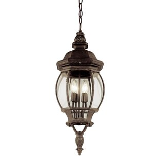 Astoria Grand Claypool 4-Light Hanging Lantern