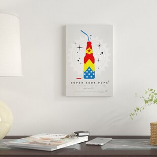 'Super Soda Pops IV' Graphic Art Print on Canvas By East Urban Home