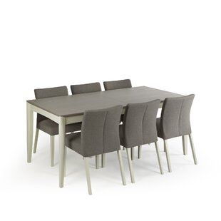 Izzie Extendable Dining Set With 6 Chairs By August Grove