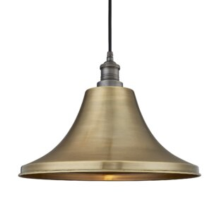 Review Brooklyn 1-Light Outdoor Pendant