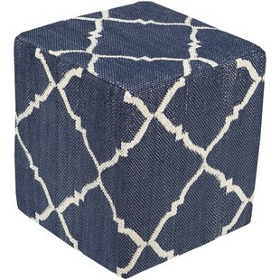 Eastbrook II Cube Ottoman by Charlton Home