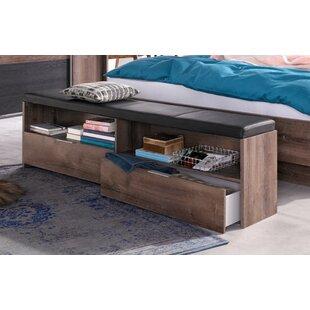 Von Wimex Gepolsterte Schlafzimmerbank Virgo Aus Holz Mit Stauraum