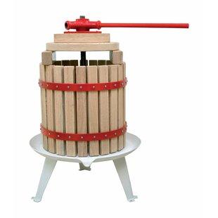 Solid Wood Basket Fruit Juicer