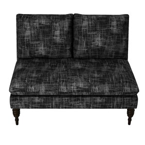 Styles Metallic Crossweave Armless Loveseat ..
