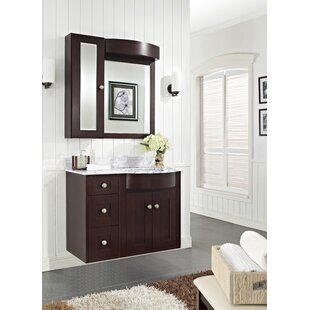 Review Kester 36 Multi-layer Stain Bathroom Vanity by Darby Home Co