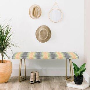 East Urban Home Schatzi Upholstered Bench