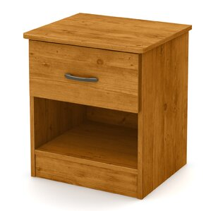 Libra 1 Drawer Nightstand by South Shore