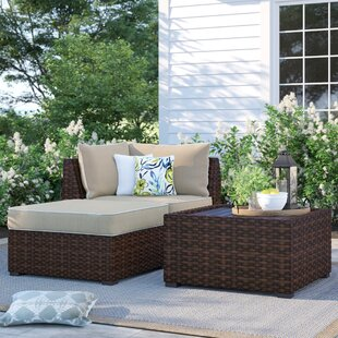 Dante Patio Sectional with Cushions