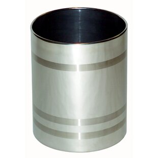 Central Specialties LTD Stainless Steel Waste Basket