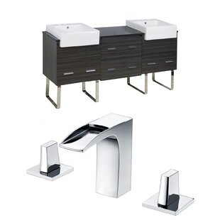 Xena Farmhouse 72 Double Bathroom Vanity Set by American Imaginations