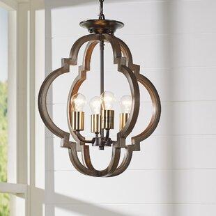 Pendant lighting styles for your home joss main tremiere 4 light geometric pendant aloadofball Gallery