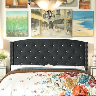 Affordable Martins Upholstered Panel Headboard by Darby Home Co