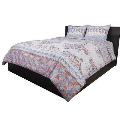 Bloomsbury Market Moncada 3 Piece Reversible Comforter Set