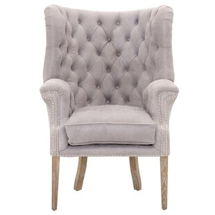 Claude Wingback Chair by One Allium Way