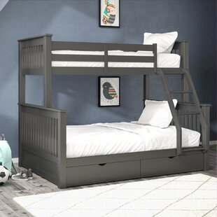 Aditya Twin Over Full Bunk Bed with Drawers