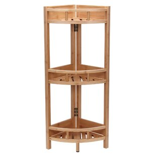Shopping for Bamboo Slatted Corner Bookcase by Household Essentials