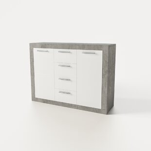 Drennen 4 Drawer Combo Dresser by Orren Ellis Today Only Sale
