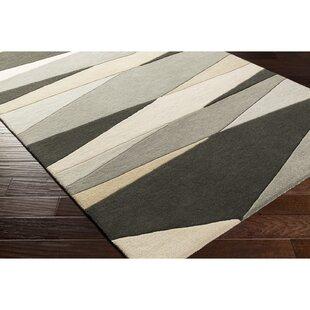 Great choice Dewald Hand-Tufted Gray/Beige Area Rug ByEbern Designs