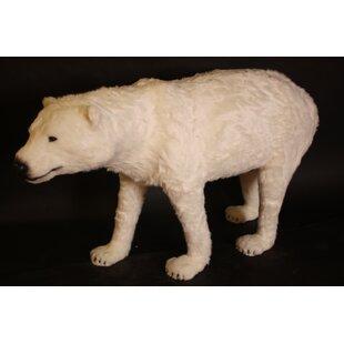 Polar Bear Figurine By Happy Larry