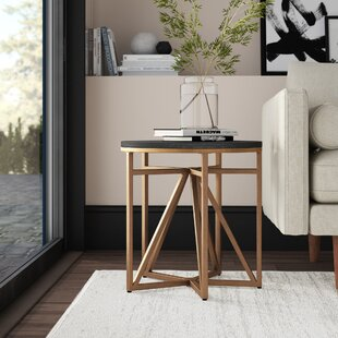 Comparison Carlo End Table by Mercury Row