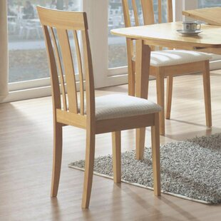 Dining Side Chair in Maple (Set of 2)