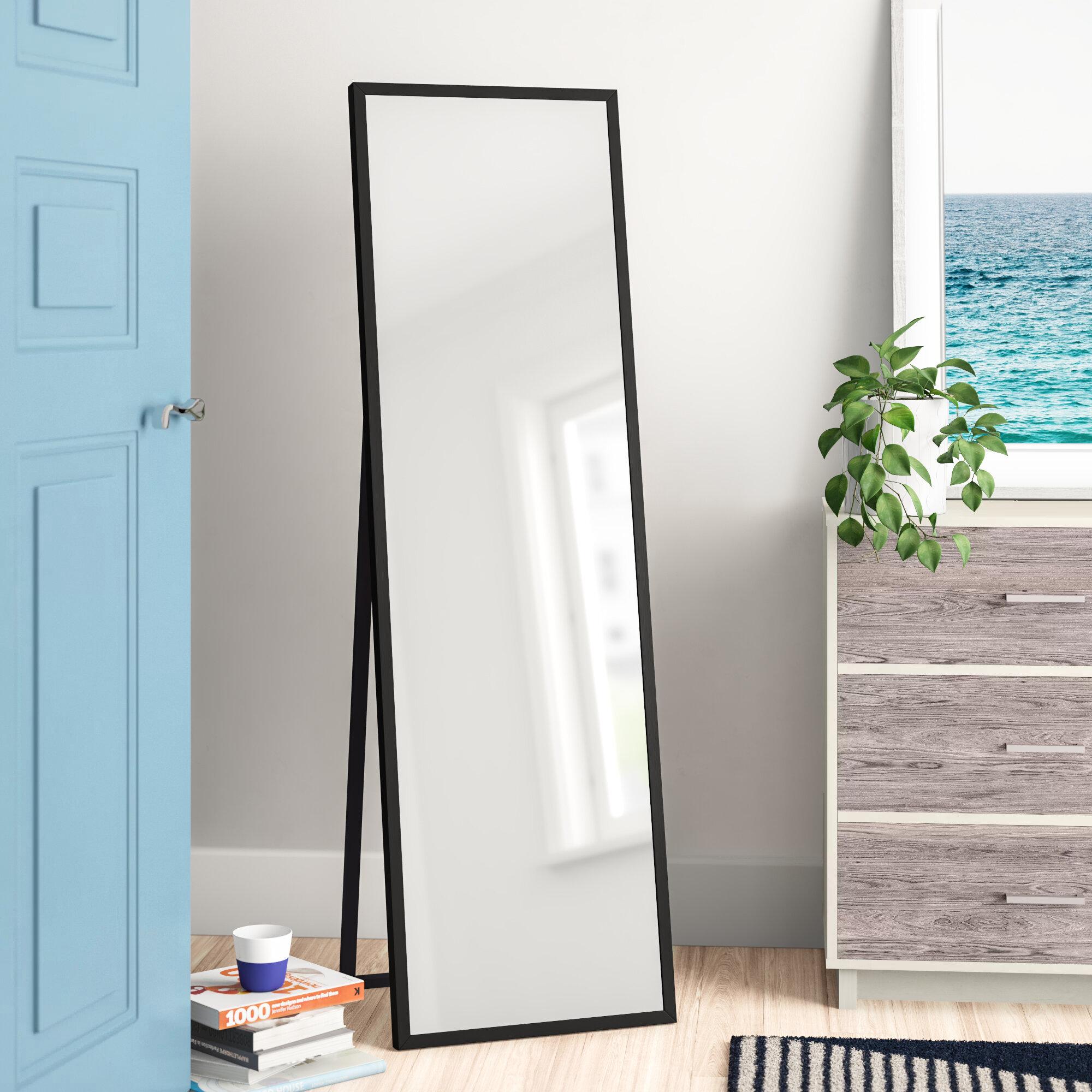 Zipcode Design Plainville Free Standing Full Length Mirror Reviews Wayfair
