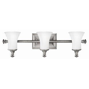 Charlton Home Pulliam 3-Light Vanity Light