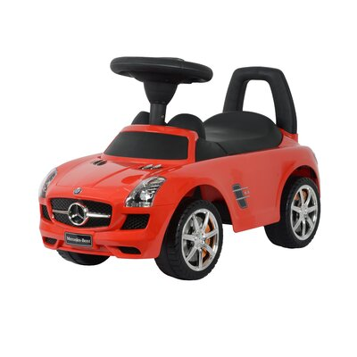 Mercedes SLS Push Car Best Ride On Cars Color: Red