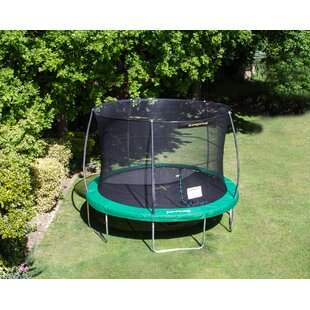 12' Trampoline With Safety Enclosure By Freeport Park
