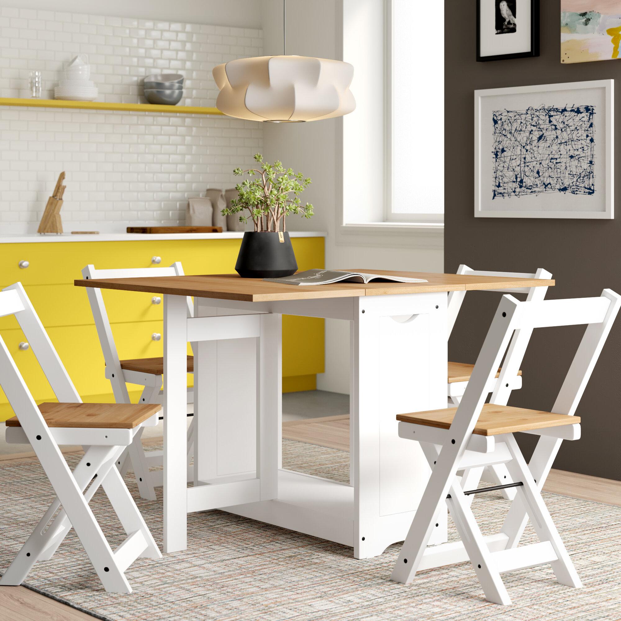 Buy Folding dining Table Set Online| 4