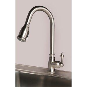 Builders Shoppe Single Handle Pull Down Kitchen Faucet