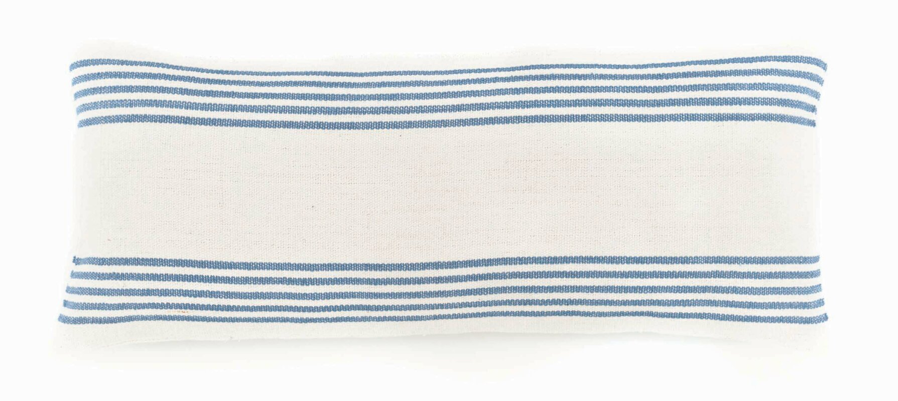 French Blue STripe Cotton Lumbar Pillow #Frenchblue #Frenchpillow #FrenchCountry