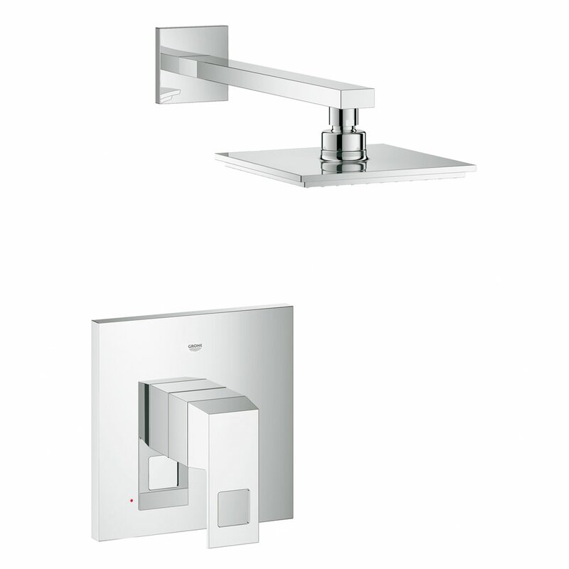 Grohe Eurocube Shower Combination Volume Control Shower Faucet ...