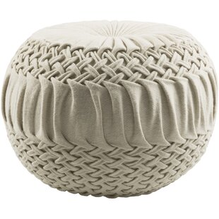 looping furniture foot pouf nursery product crochet knit chair stool decor ottoman grey home