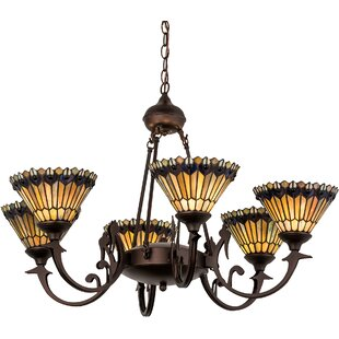 Meyda Tiffany Tiffany Jewe LED Shaded Chandelier