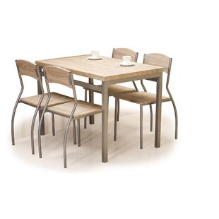 Dimick Dining Set With 4 Chairs By 17 Stories