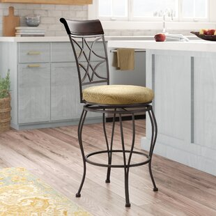 Reading 24 Swivel Bar Stool Alcott Hill