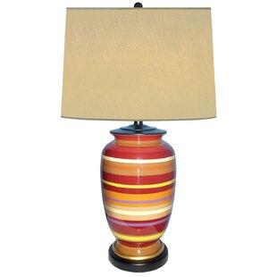 Sunset Horizon Porcelain 28 Table Lamp