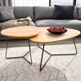 Barth 2 Piece Coffee Table Set by Foundry Select
