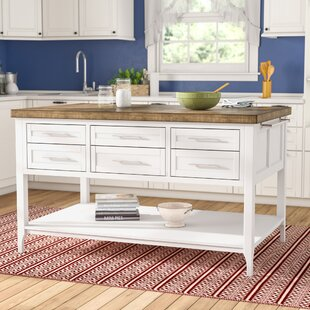 Kira Kitchen Island by Laurel Foundry Modern Farmhouse Great price