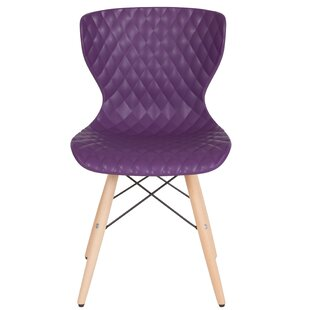 Glaze Contemporary Dining Chair by Wrough..