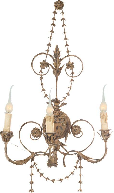 Santa Maria 3-Light Candle Wall Light - Shop the Room! Sarah Richardson's Ontario Living Room #AidanGray