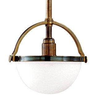 Brayden Studio Letson 1-Light Bowl Pendant