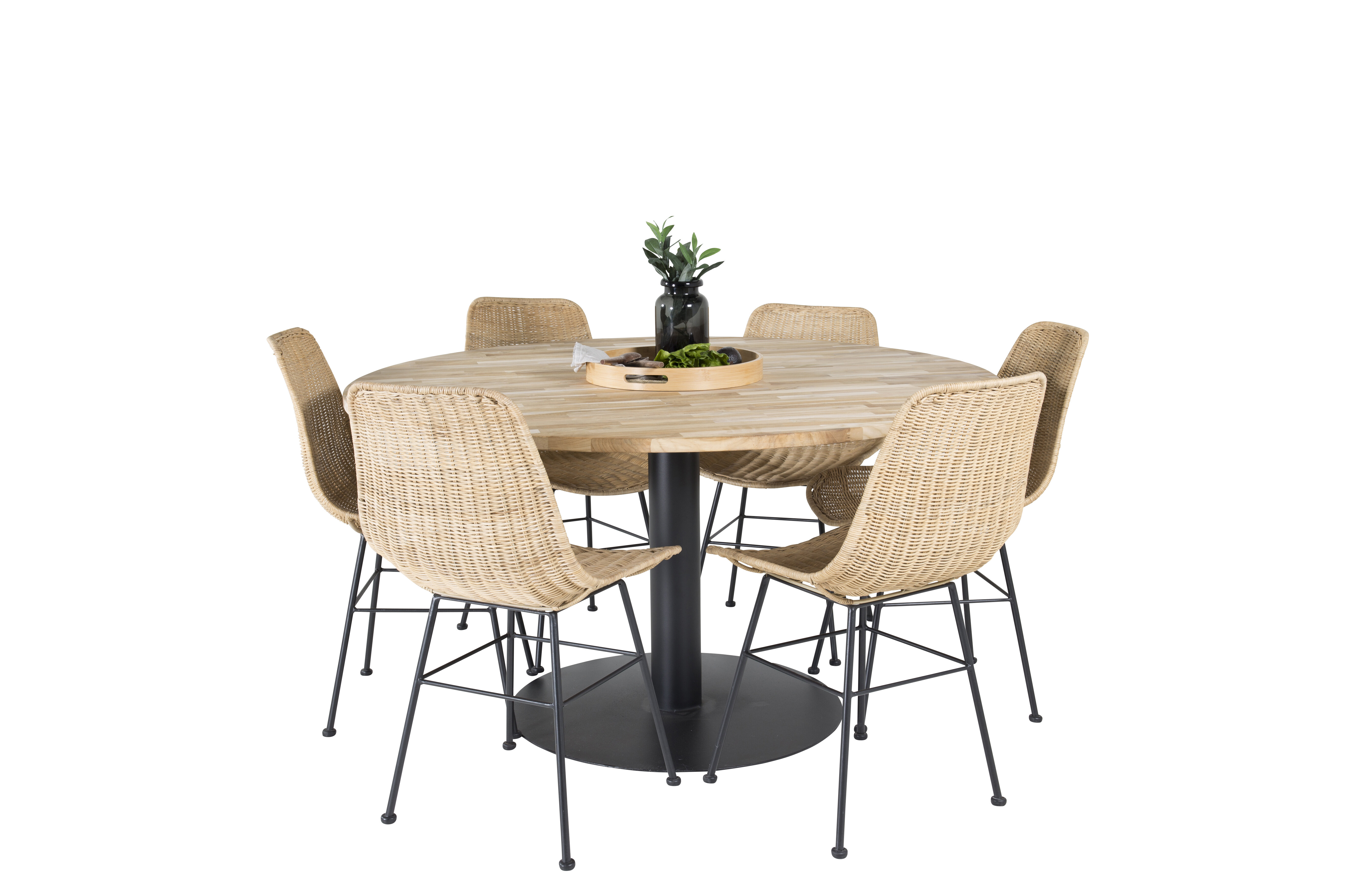 Picture of: Ebern Designs Caja Dining Set With 6 Chairs Wayfair Co Uk