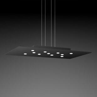 ZANEEN design Pop 11-Light Geometric Chandelier
