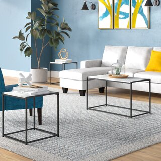 Andresen 3 Piece Coffee Table Set by Wrought Studio SKU:CC566208 Description