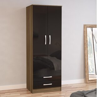 Burren 2 Door Wardrobe By 17 Stories