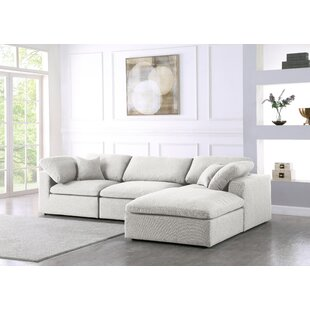 Robesonia 119 Reversible Modular Sectional with Ottoman by Latitude Run