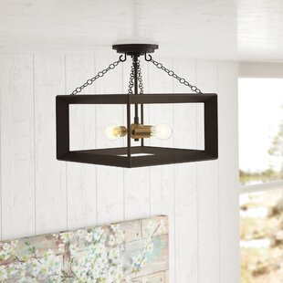 Ethyl 3-Light Semi Flush Mount by Laurel Foundry Modern Farmhouse