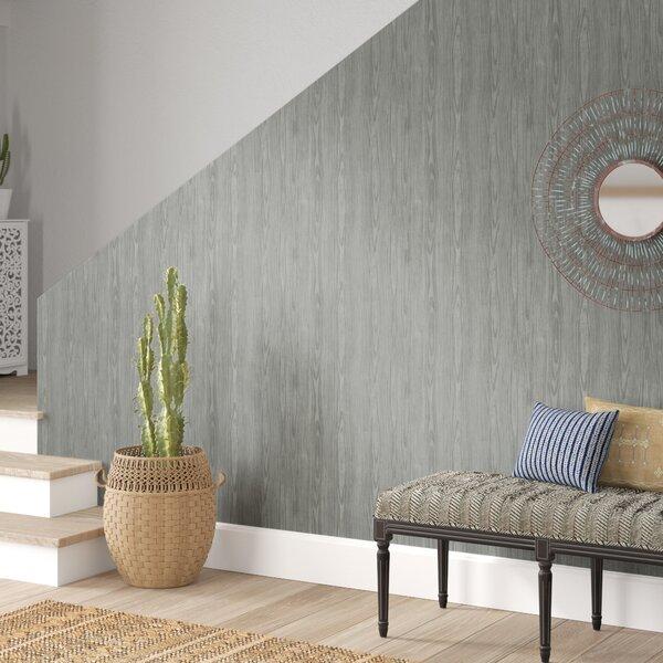 Faux Wood Wallpaper Wayfair